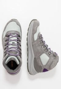 Merrell - ONTARIO 85 MID WP - Hiking shoes - charcoal - 1