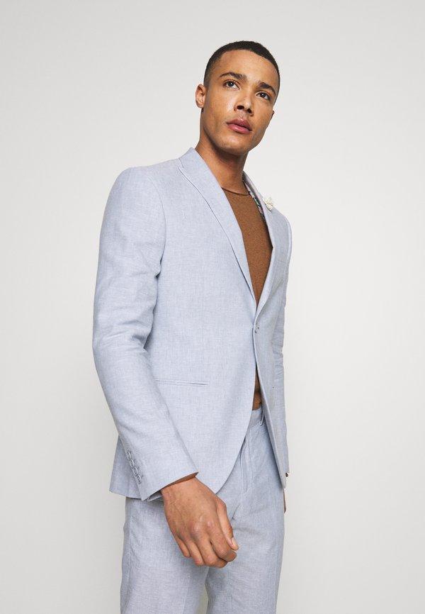 Isaac Dewhirst PLAIN WEDDING - Garnitur - blue/niebieski Odzież Męska PQPW
