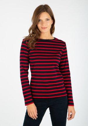CROZON - Long sleeved top - rich navy/braise