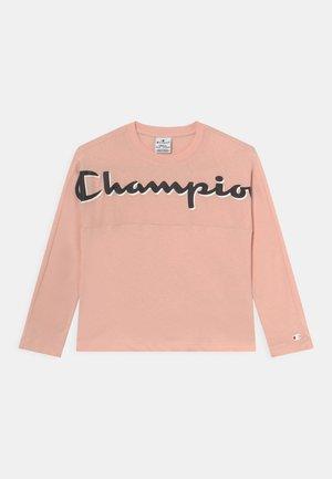 CHAMPION ADDICTED CREW NECK LONG SLEEVE UNISEX - Langarmshirt - light pink