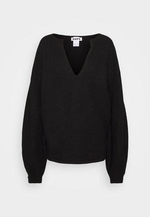 EXPAND - Strickpullover - black