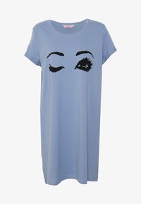 Hunkemöller - NIGHTIE R NECK - Camicia da notte - country blue - 3