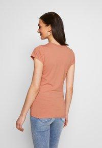 G-Star - SMALL LOGO SLIM  - T-shirts basic - mauve 4398 - 2