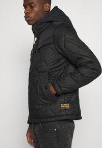 G-Star - ATTACC HEATSEAL QUILTED - Light jacket - namic heatpress padded black - 4