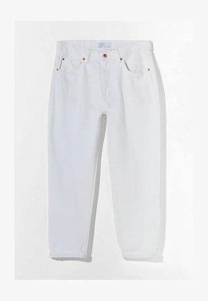 MIT VINTAGE WASCHUNG  - Jeans a sigaretta - white