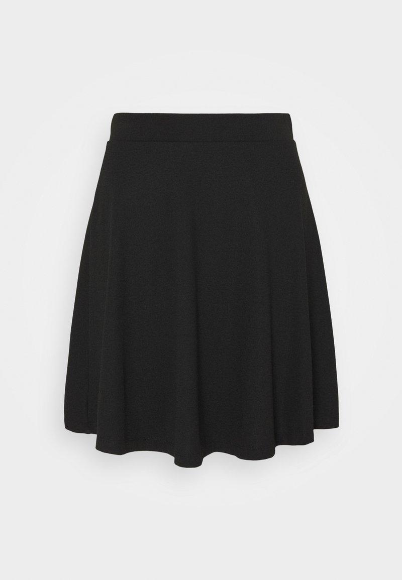 edc by Esprit - FLOW MINI SKIRT - A-line skirt - black