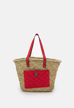 KENSINGTON BASKET SHOPPER - Kabelka - red