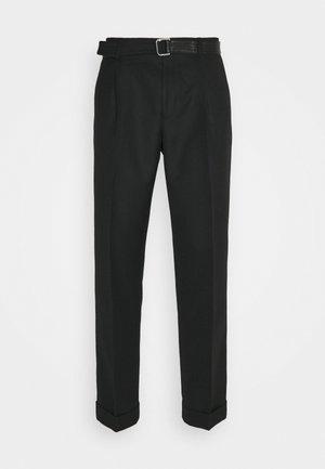 PANTALON SEUL - Spodnie materiałowe - black