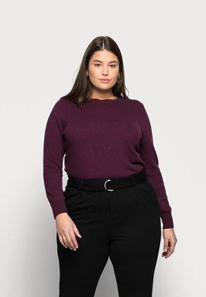 CREW - Strikkegenser - purple