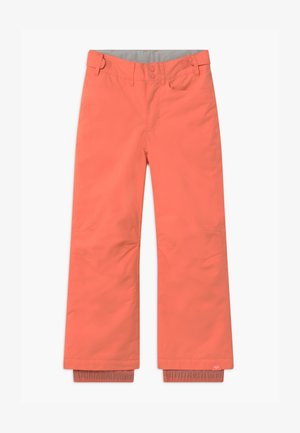 BACKYARD GIRL - Schneehose - fusion coral