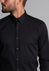 WORMLAND - SLIM FIT  - Formal shirt - schwarz - 4