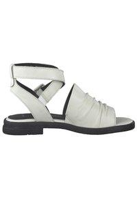 Marco Tozzi - Ankle cuff sandals - white/black - 4