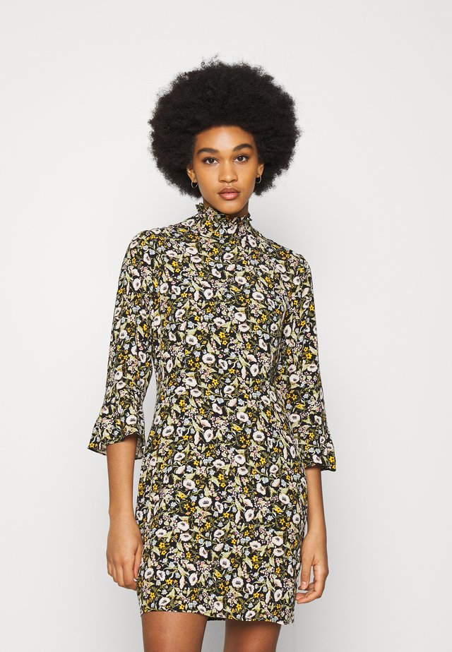 ELIZABETH MEADOW FLORAL DRESS - Hverdagskjoler - black