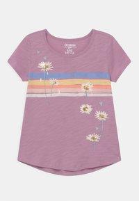 OshKosh - GRAPHIC - Print T-shirt - purple - 0