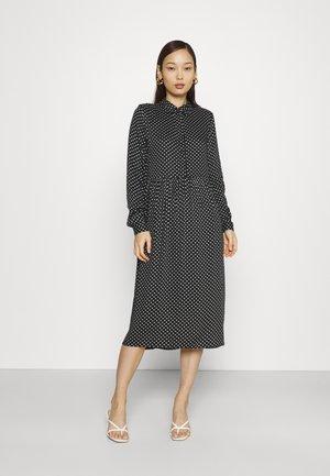 VMFIE DRESS  - Shirt dress - black/birch dot