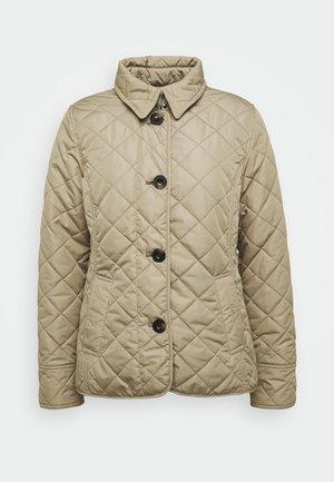 FORTH QUILT - Light jacket - oatmeal tartan