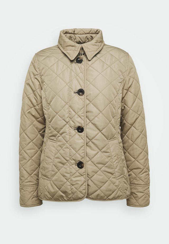 FORTH QUILT - Light jacket - oatmeal tartan