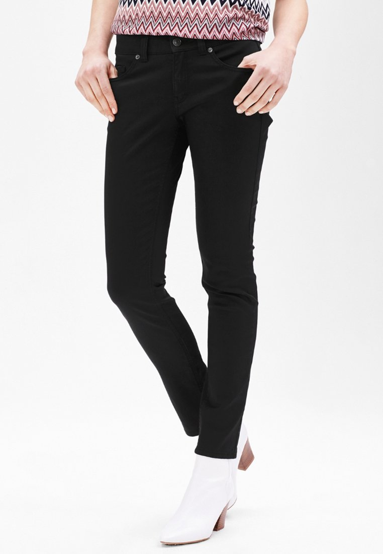 s.Oliver BLACK LABEL - Trousers - secret black
