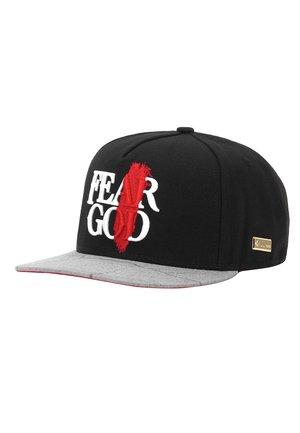 MISTER TEE CAP HOG FEAR GOD CAP - Cap - black/grey