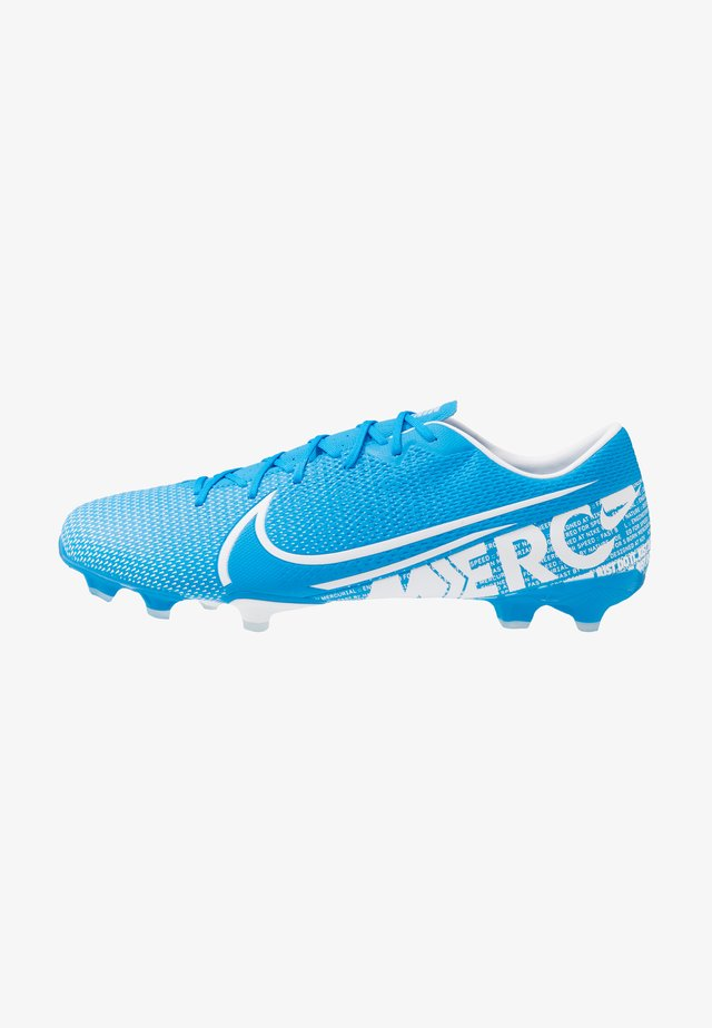 MERCURIAL VAPOR 13 ACADEMY FG/MG - Moulded stud football boots - blue hero/white/obsidian