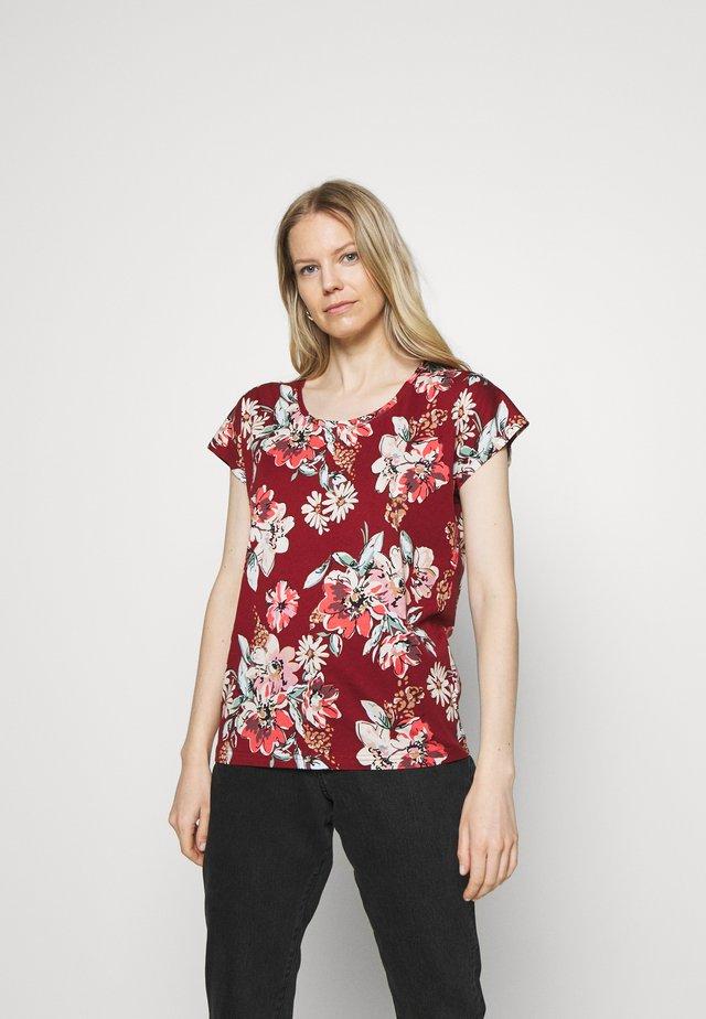 SC-FELICITY AOP 297 - T-shirt imprimé - red