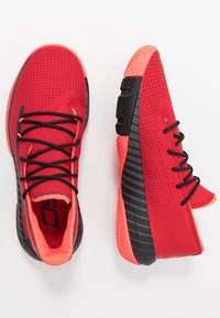 Under Armour - SC 3ZER0 III - Basketball shoes - red/jet gray/black - 1