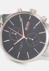 BOSS - ASSOCIATE - Chronograph watch - silver-coloured/black - 3