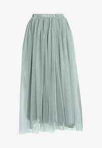 Lace & Beads Tall - VAL SKIRT - A-Linien-Rock - teal - 3