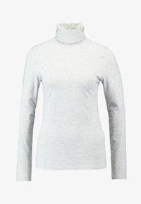 Zalando Essentials - T-shirt à manches longues - mottled light grey - 3
