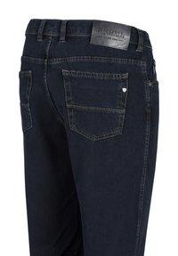 Brühl - MIT STRETCH-FUNKTION - Straight leg jeans - dark stone - 2