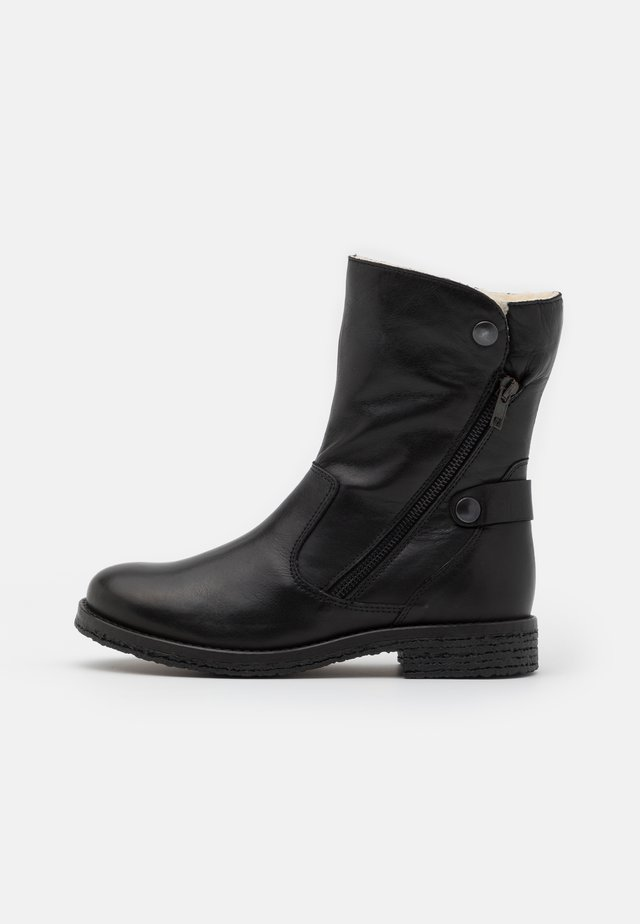 BIAATALIA WINTER ZIPPER BOOT - Winter boots - black
