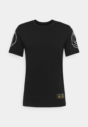 PARIS ST GERMAIN LOGO TEE - Klubbkläder - black