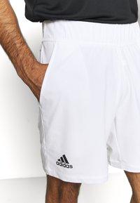 adidas Performance - ERGO SHORT - Träningsshorts - white/black - 5