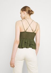 Free People - ADELLA - Top - olive sparrow - 2