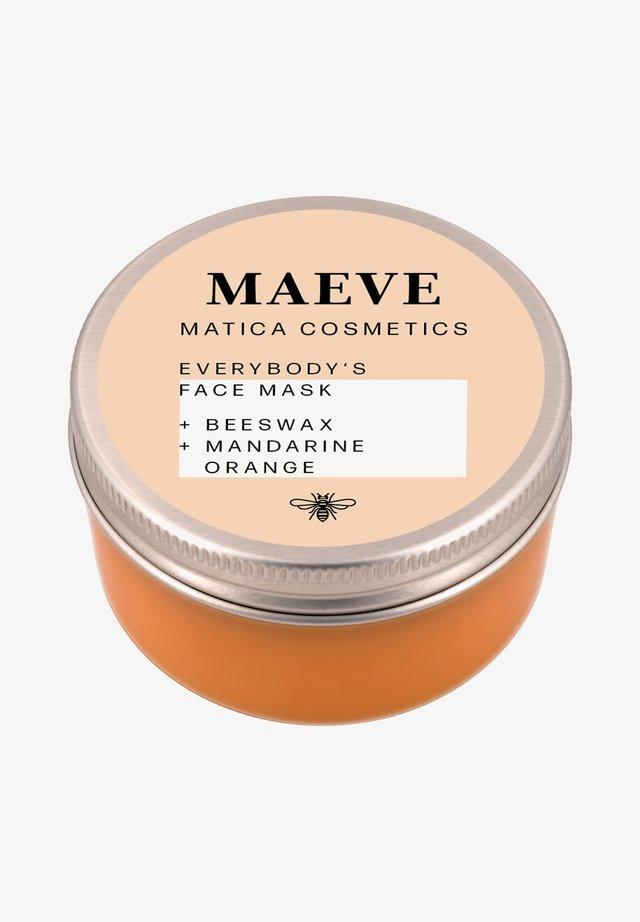 MAEVE GESICHTSMASKE MANDARINE - Face mask - -