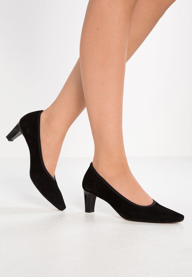 PERLATO - Classic heels - noir