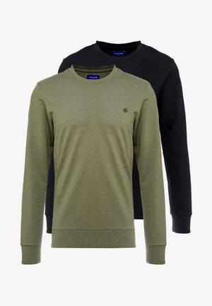 JORBASIC CREW NECK 2 PACK - Sweatshirt - black