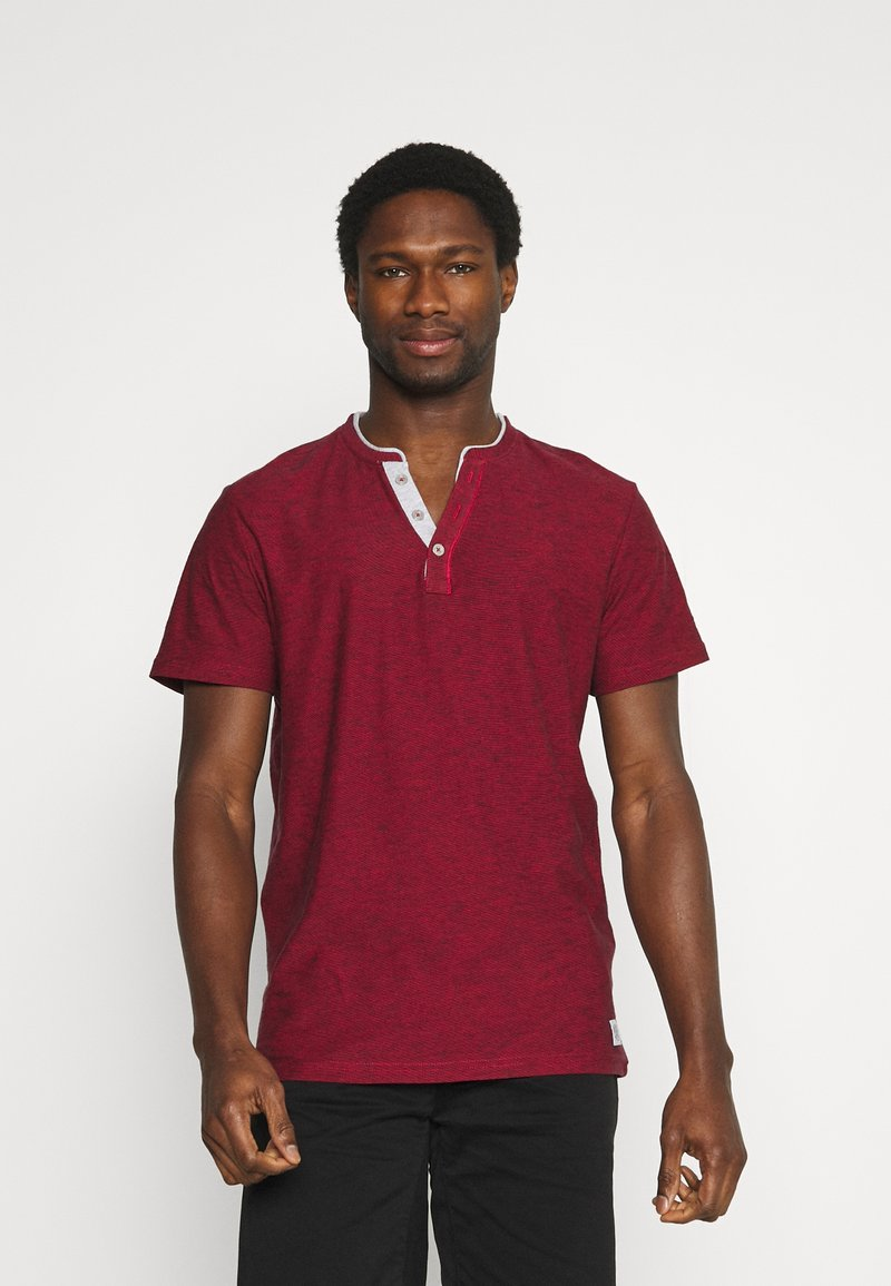 TOM TAILOR - Print T-shirt - power red