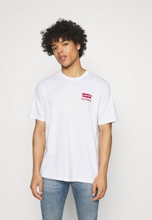 RELAXED FIT TEE UNISEX - T-shirt print - white