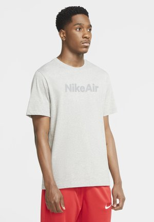 TEE AIR - T-shirt con stampa - dark grey heather