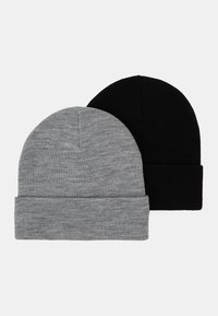 RUBY HAT 2 PACK - Beanie - black/grey