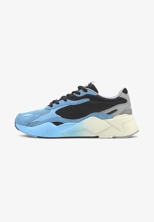 Sneakers basse - black-ethereal blue
