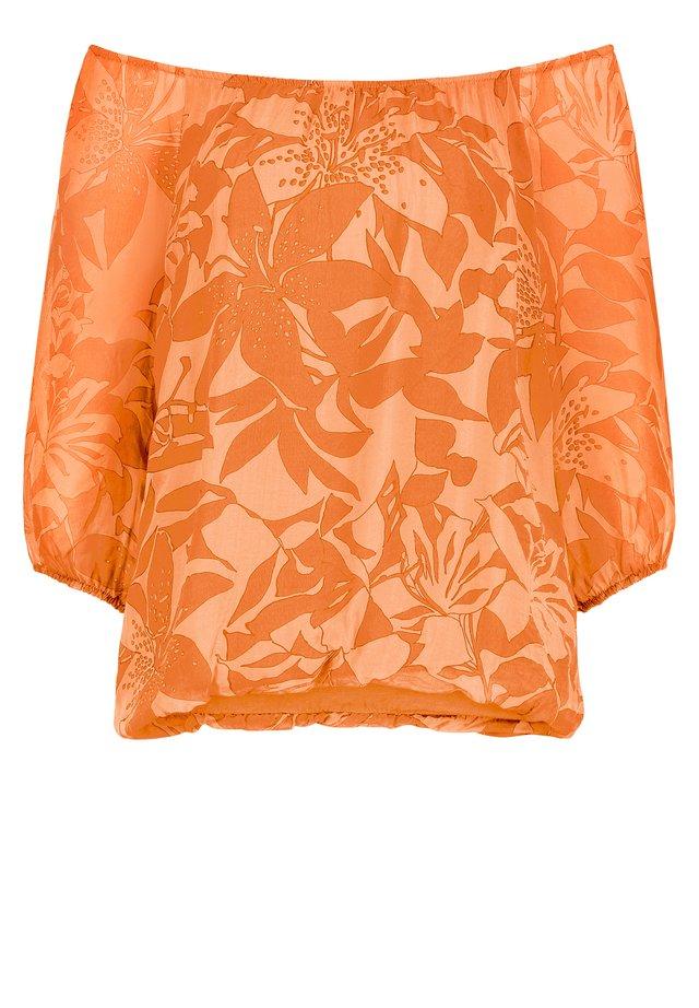 Blouse - apricot/orange