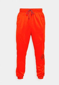 PANT - Tracksuit bottoms - chile red/black