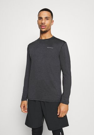 MELL MELANGE - Sports shirt - black