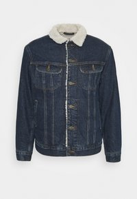 Lee - SHERPA  - Jas - dark blue denim - 4