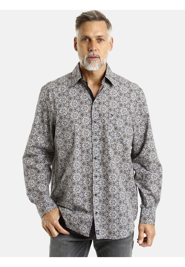 Shirt - schwarz gemustert