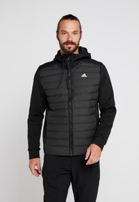 adidas Performance - VARILITE HYBRID DOWN JACKET - Talvitakki - black - 0