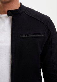 DeFacto - Kurtka jeansowa - black - 4