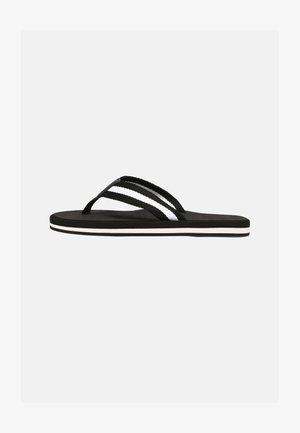 VEGAN SENAVIEL - Flip Flops - black